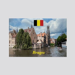 Stunning! Bruges canal Magnets