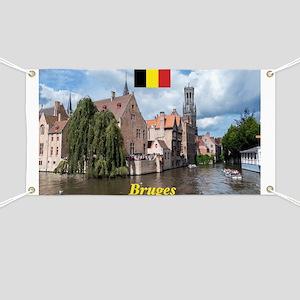 Stunning! Bruges canal Banner