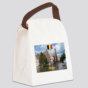 Stunning! Bruges canal Canvas Lunch Bag