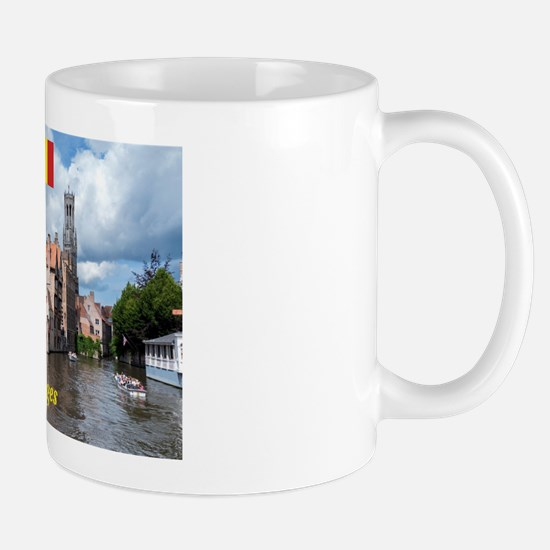 Stunning! Bruges canal Mugs