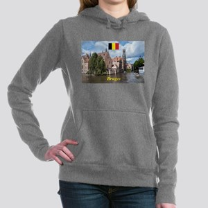 Stunning! Bruges canal Women's Hooded Sweatshirt