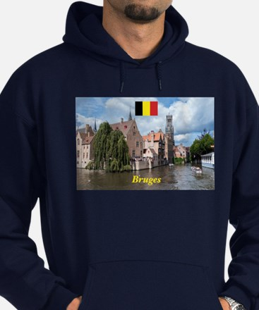 Stunning! Bruges canal Hoody