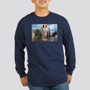 Stunning! Bruges canal Long Sleeve T-Shirt