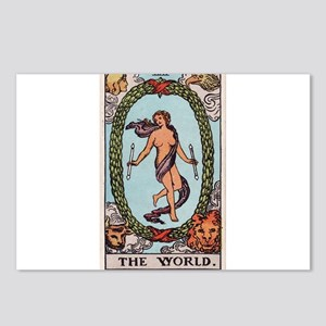 """""""The World"""" Postcards (Package of 8)"""