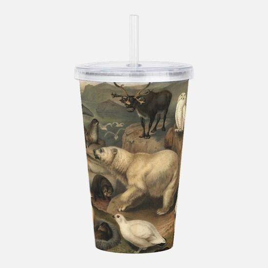 Arctic Animals Acrylic Double-wall Tumbler