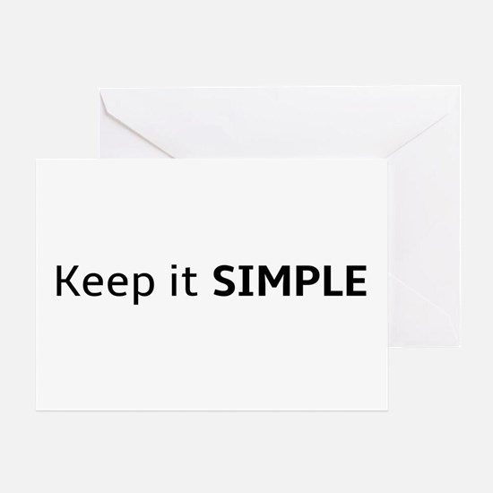 Keep It Simple Greeting Cards