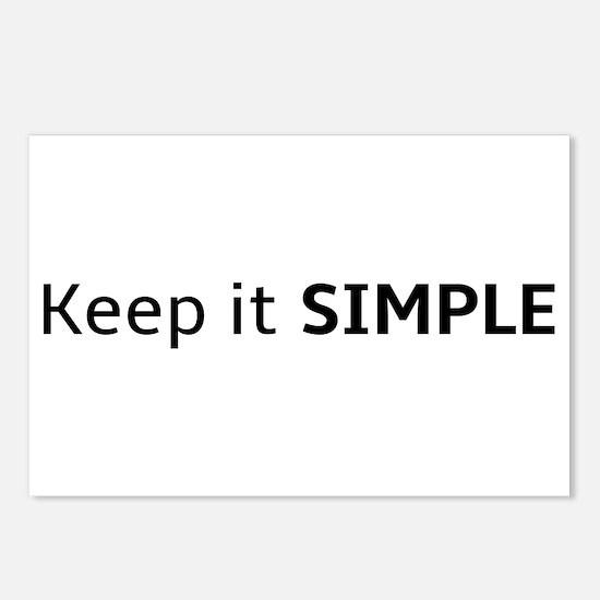 Keep It Simple Postcards (package Of 8)