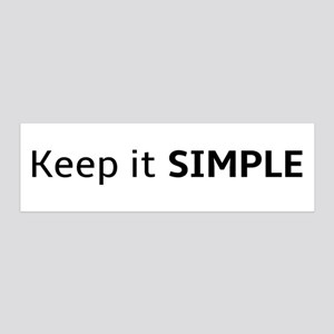 Keep it SIMPLE Wall Decal