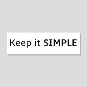 Keep It Simple Car Magnet 10 X 3