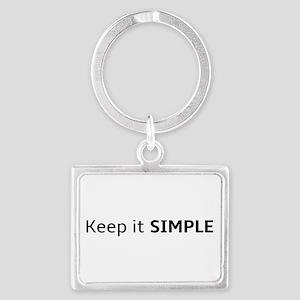 Keep it SIMPLE Keychains