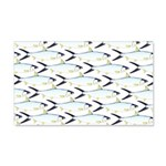 Milkfish Pattern Wall Decal