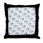Milkfish Pattern Throw Pillow