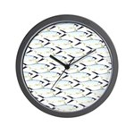 Milkfish Pattern Wall Clock