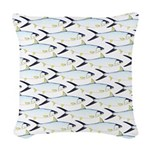 Milkfish Pattern Woven Throw Pillow