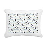 Milkfish Pattern Rectangular Canvas Pillow