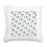 Milkfish Pattern Square Canvas Pillow