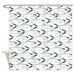Milkfish Pattern Shower Curtain
