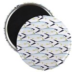 Milkfish Pattern Magnets