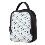 Milkfish Pattern Neoprene Lunch Bag