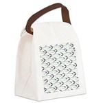 Milkfish Pattern Canvas Lunch Bag