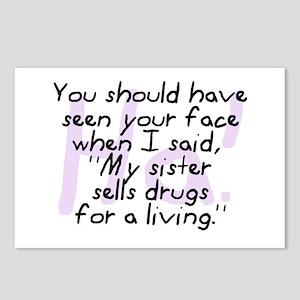 Sister Sells Drugs Postcards (Package of 8)