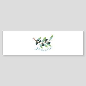 OLIVE BRANCH PEACE Bumper Sticker