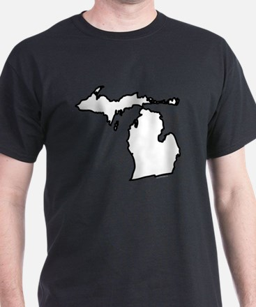 Michigan State Outline T-Shirt