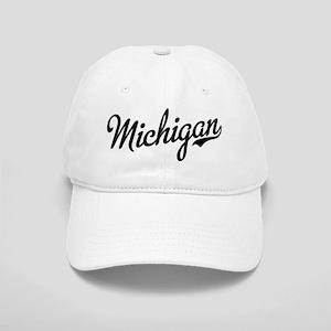 Michigan Script Black Cap