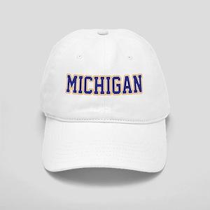 Michigan Jersey Blue Cap