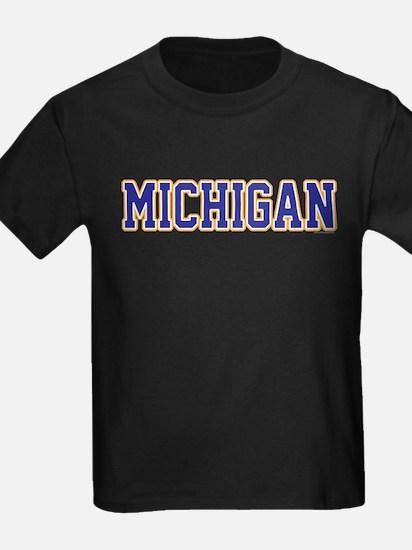 Michigan Jersey Blue T