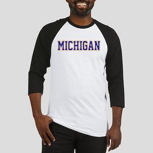 Michigan Jersey Blue Baseball Jersey