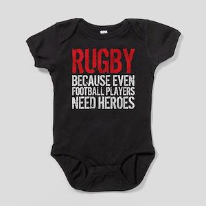 Rugby Football Heroes Baby Bodysuit