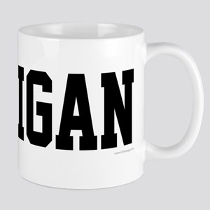 Michigan Jersey Black Mug