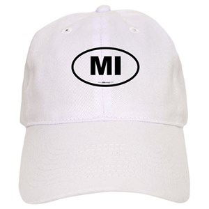 Michigan Great Lakes Hats - CafePress c688b37af2d4