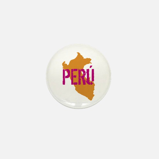COLORFUL PERU - Mini Button