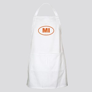 Michigan MI Euro Oval Apron