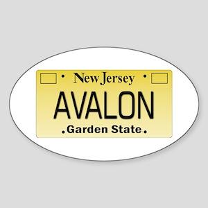 Avalon NJ Tag Giftware Sticker