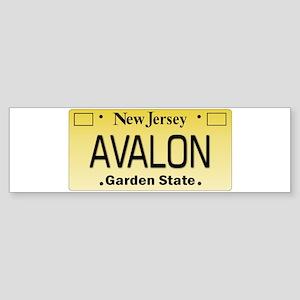 Avalon NJ Tag Giftware Bumper Sticker