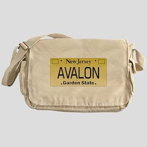 Avalon NJ Tag Giftware Messenger Bag