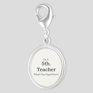 5th. Grade Teacher Charms