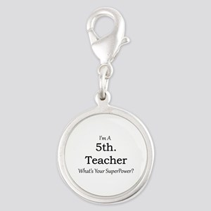 5th. Grade Teacher Charms