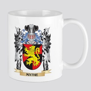 Mathe Coat of Arms - Family Crest Mugs
