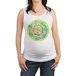 Golden Mandala Maternity Tank Top