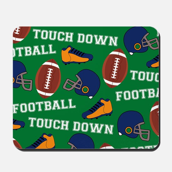 Football Collage Mousepad