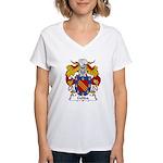 Gelida Family Crest Women's V-Neck T-Shirt