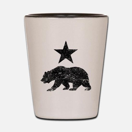 Cute Cal bears Shot Glass