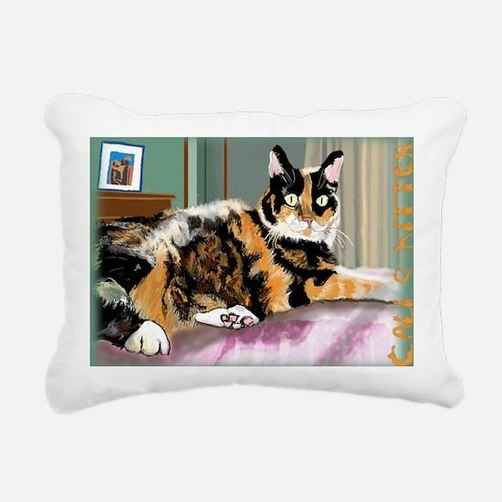 october Rectangular Canvas Pillow