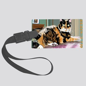 october Large Luggage Tag