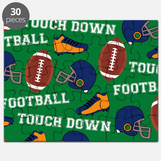 Football Collage Puzzle