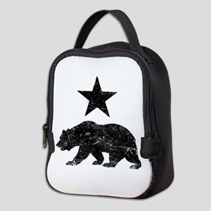 California Republic distressed Neoprene Lunch Bag